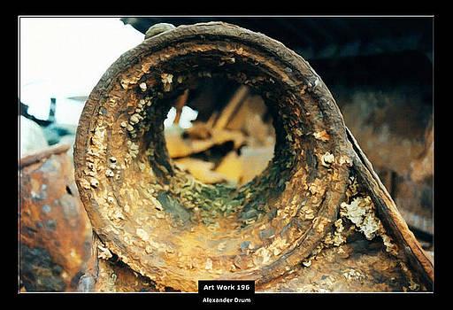 Art Work 196 wreck by Alexander Drum