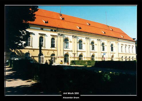 Art Work 200 Schleissheim Castle by Alexander Drum