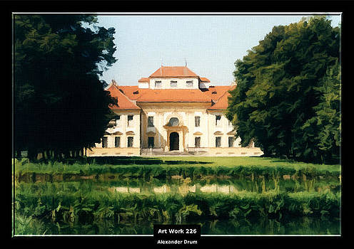 Art Work 226 Bavaria Castle by Alexander Drum