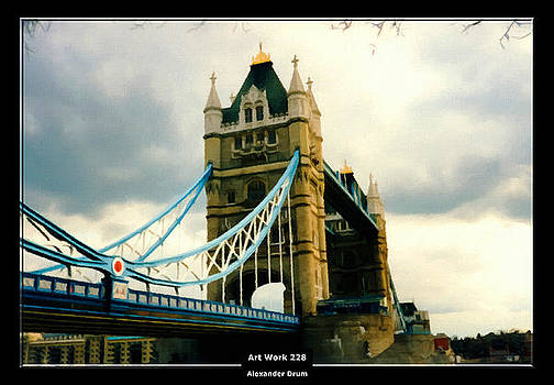Art Work 228 Tower Bridge London by Alexander Drum