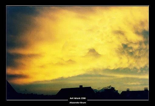 Art Work 258 sunset by Alexander Drum