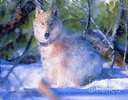Artic Wolf by Ruby Cross