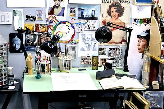 Artist Desk by Andres LaBrada
