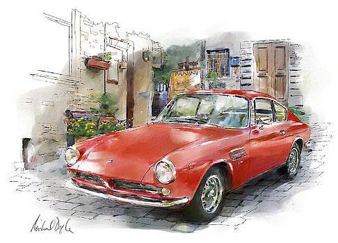 ASA 1000 GT sports coupe by Michael Doyle