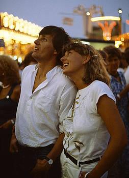 At the Funfair 1980s by David Davies