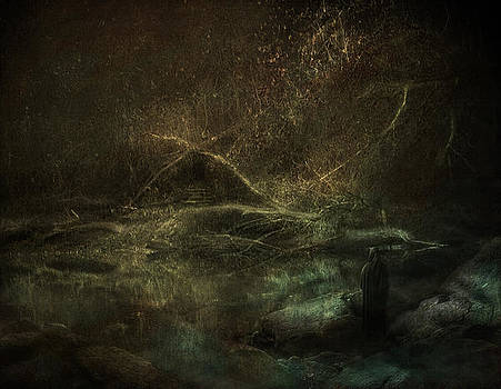 At the Gate by Akos Kozari