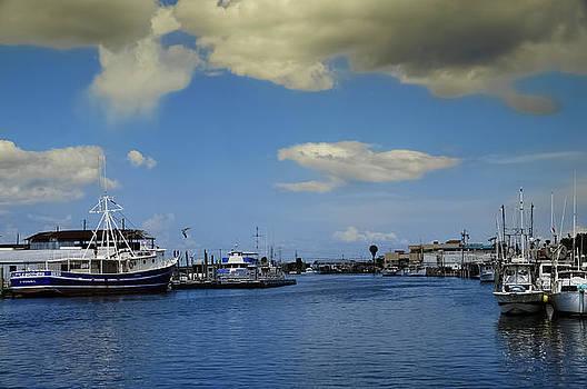 At The Sponge Docks by Ernesto Gomez