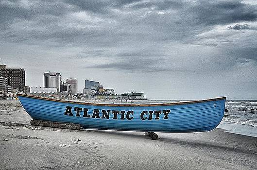 Atlantic City Beach Patrol Boat 82 by Quin Bond