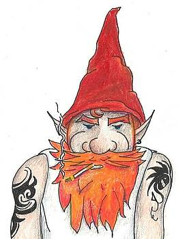 Bad Ass Gnome by Tracy Fitzgerald