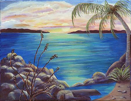 Bahama Beach by Mikki Alhart