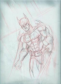 Batman Rough Synamic by Abhishek Vishwakarma