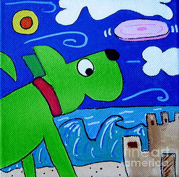 Beach Dog by Susan Sorrell