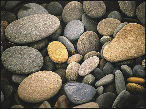 Beach rocks  by Vincent Dwyer