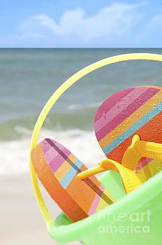 Beach Supplies by Cheryl Casey