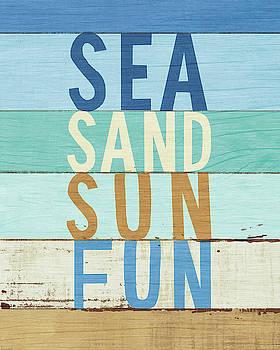 Beachscape Inspiration Viii by Michael Mullan