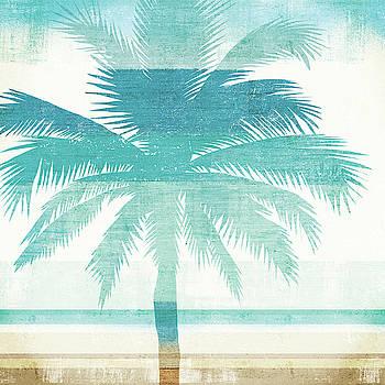Beachscape Palms Ii by Michael Mullan