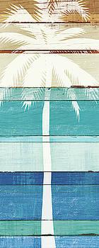 Beachscape Palms V by Michael Mullan