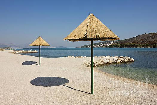 Beautiful Remote Beach near Trogir in Croatia by Kiril Stanchev
