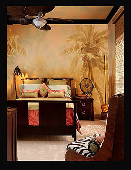 Bedroom Mural by Rod Cameron