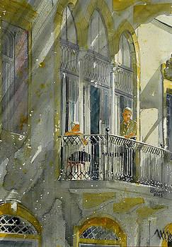 Beirut Balcony by Martin Giesen