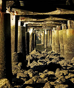Beneath the Pier by Tony Steinberg