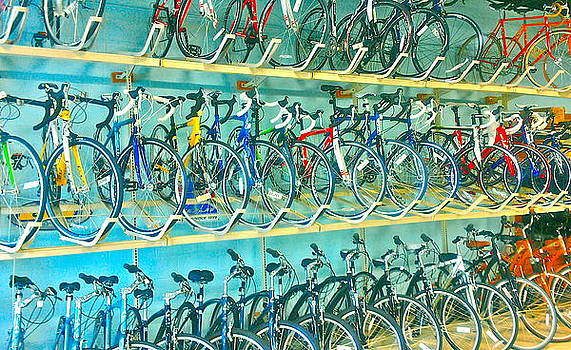 Bicycle. by Leslizabeth O