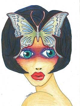 Big Eye Girl by Tracy Fitzgerald