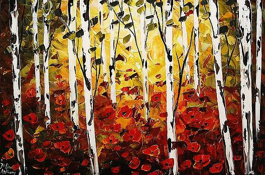 Birchforest by Jolina Anthony