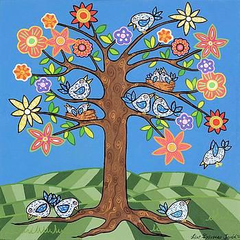 Birdie Tree by Lisa Frances Judd