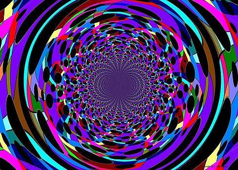 Black Hole in Color by George Landers