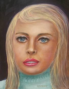 Blue Blonde by Robert Harrington