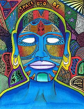 Blue Buddha  by Sam Bernal