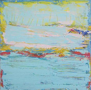 Blue Heron Paradise by Francine Ethier
