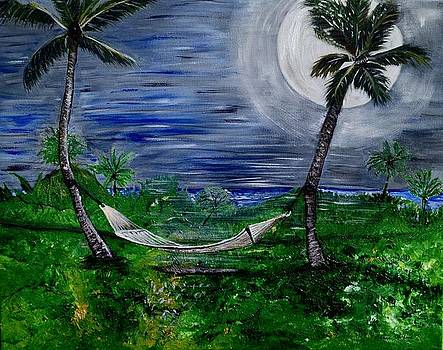 Blue Moon Hammock by Susan Abrams