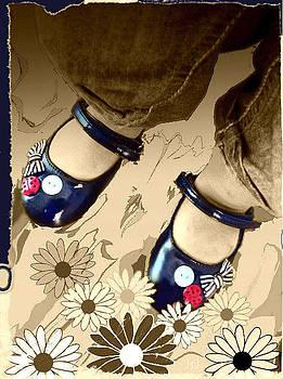 Blue Shoes by Jan Steadman-Jackson