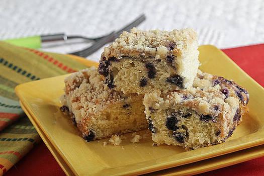 Blueberry Coffeecake by Sarah Christian