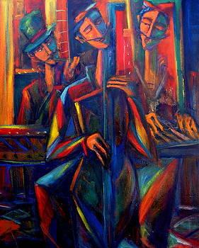 Blues by Marina R Burch