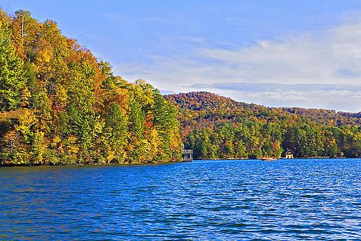 Boating in Autumn by Susan Leggett