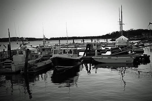 Boats at Dock by Lindsey Henderson