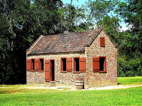 Boone Hall Plantation Slave Quarters by Greg Simmons
