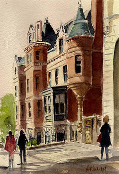 Boston's Back Bay by Nita Leger Casey