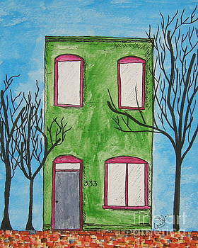 Brickwall by Marcia Weller-Wenbert