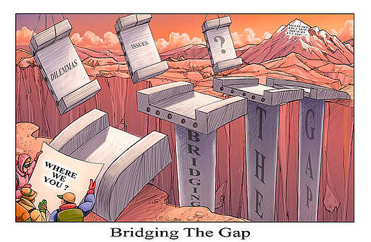 Bridging the Gap by Richard Erickson