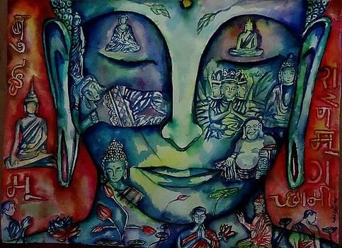 Buddha  by Abhrodeep Mukherjee