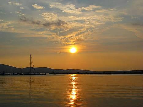 Bulgaria Golden Sunset Sozopol by Kiril Stanchev