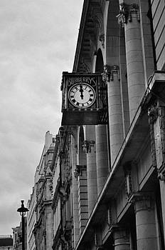 Burberrys Clock London by Andres LaBrada