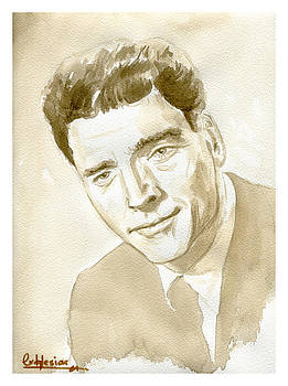 Burt Lancaster by David Iglesias