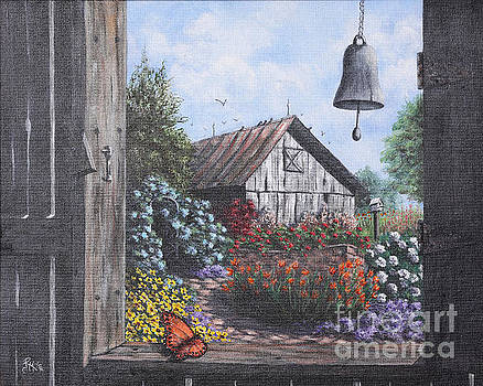 Butterfly Barn  by Rita Miller