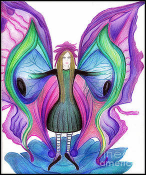 Butterfly Fairy by Angie Staft