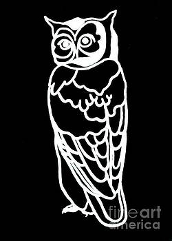 BW Owl by Amy Sorrell
